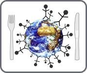 icône viande.info représentant la faim dans le monde